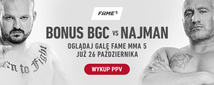 Fame MMA 5 transmisja na żywo online i w tv