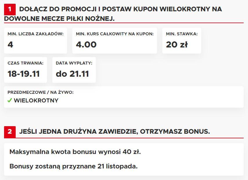 polska słowenia bonus zakłady bukmacherskie betclic
