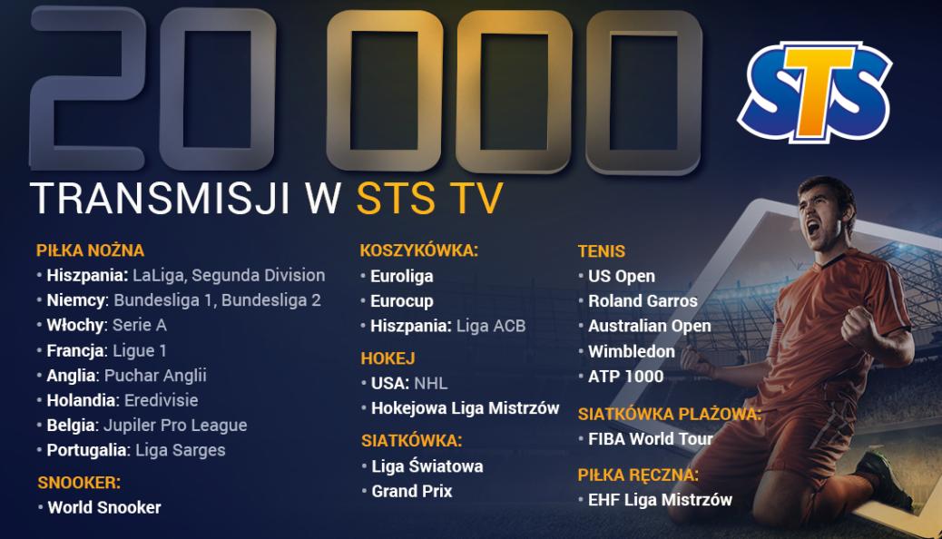 STS TV transmisje meczów