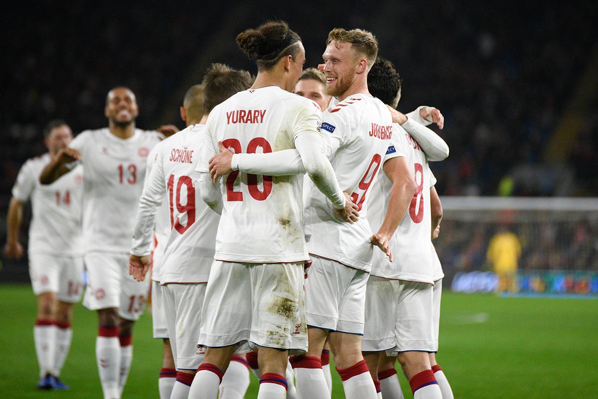 Dania - Finlandia skrót meczu