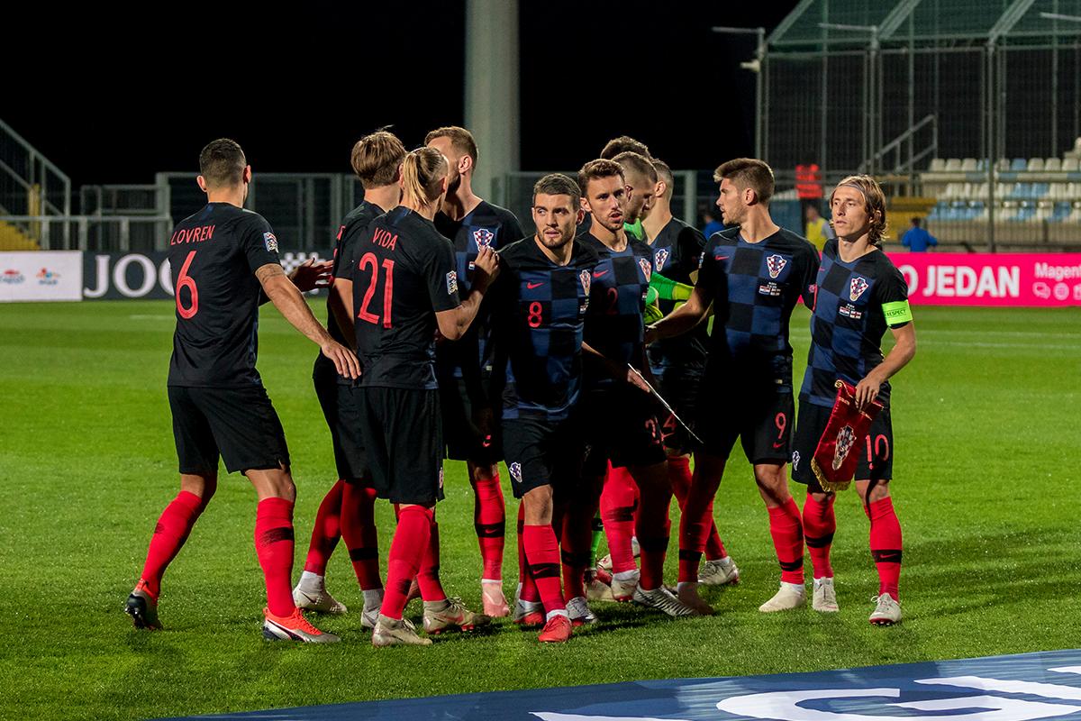 Chorwacja - Czechy skrót meczu
