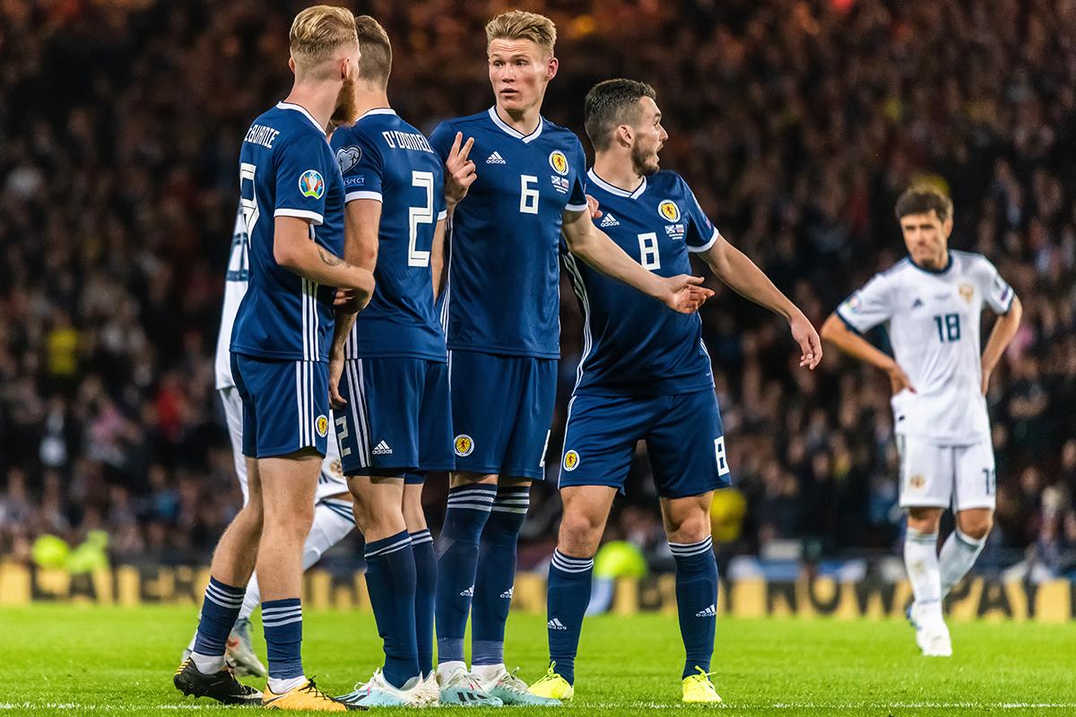 Szkocja - Czechy skrót meczu