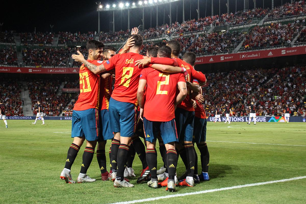Hiszpania - Słowacja skrót meczu